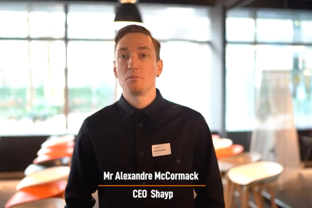 Alexandre Mccormack - CEO of Shayp