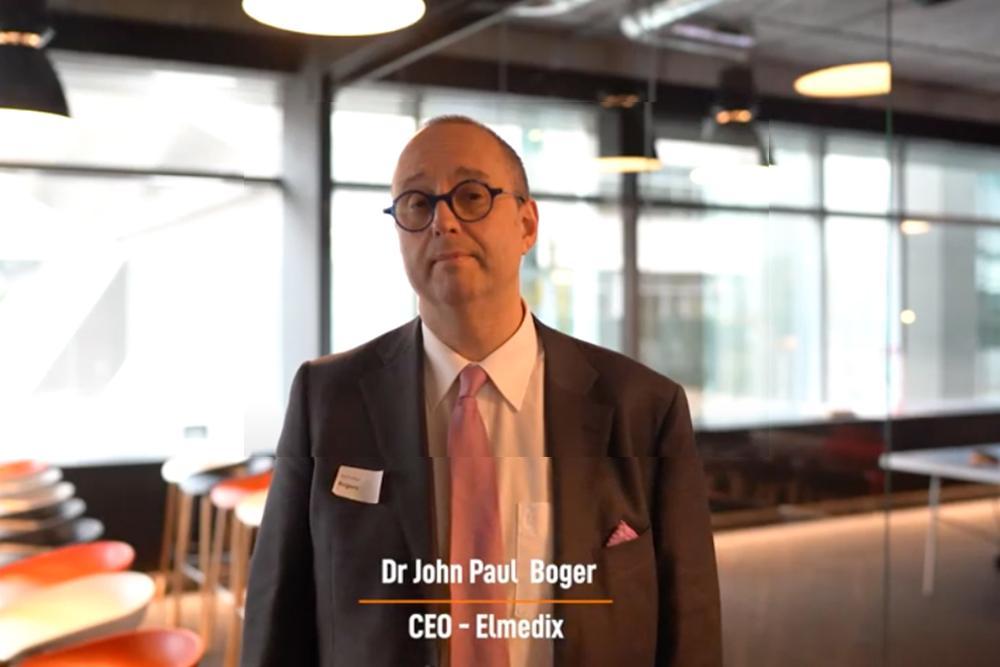 Dr JP Bogers - CEO of Elmedix
