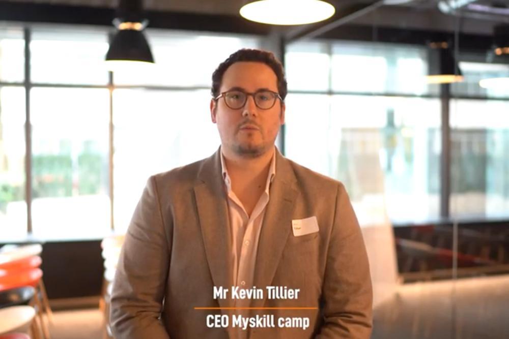 Kevin Tilliers - CEO of Myskillcamp