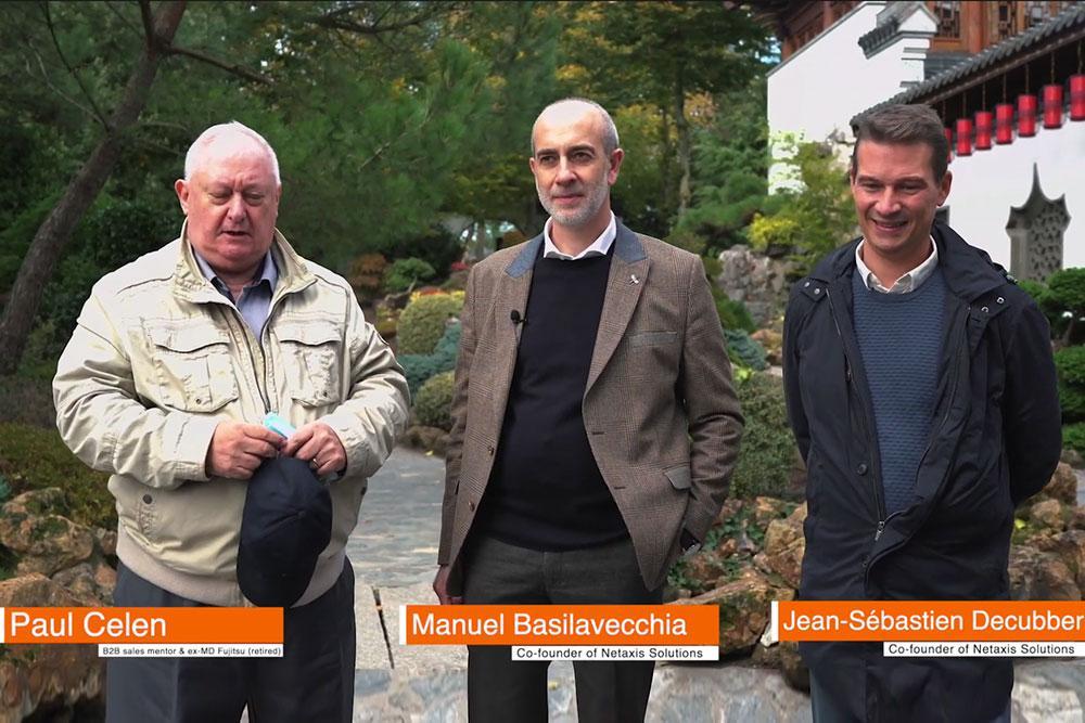 Paul Celen, Manuel Basilavecchia and Jean Sebastien Decubber